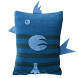 Birdy Cushion - Blue