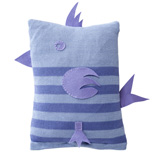 Birdy Cushion - Lilac