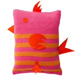 Birdy Cushion - Pink