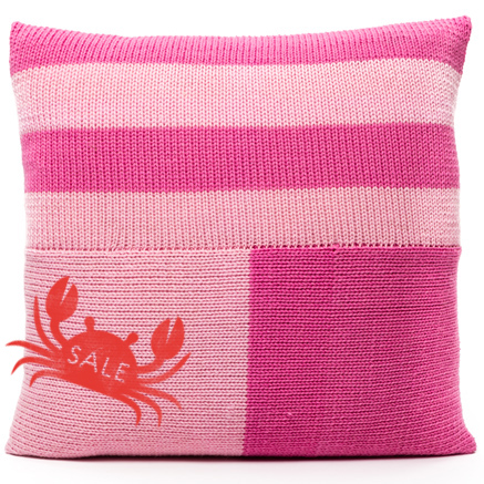 Blocks Cushion Cover - Pink