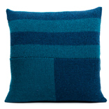 Blocks Cushion Cover - Teal