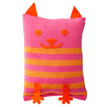 Cat Cushion Cover - Pnk