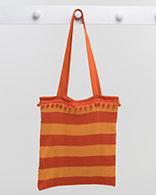 Deckchair Stripe Bag - Orange