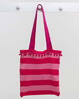Deckchair Stripe Bag - Pink