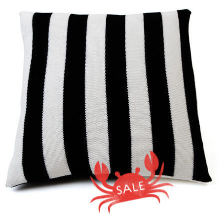 Deckchair Cushion Cover - Jet