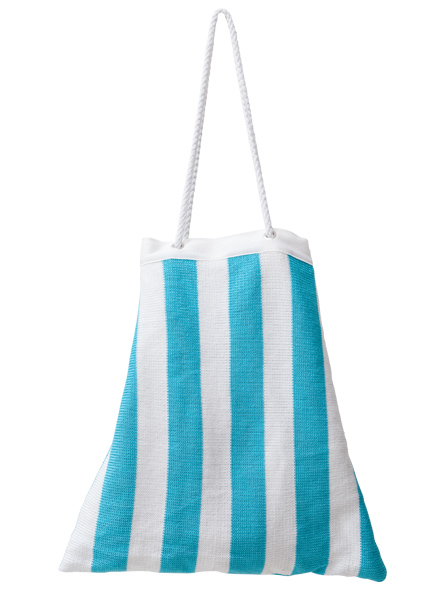 Drawstring Beach Bag - Lagoon