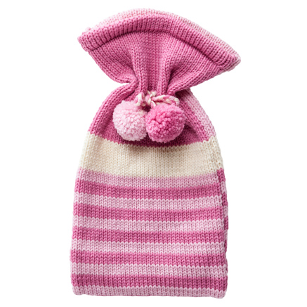 Hot Water Bottle Cover - Pinks
