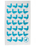 Oscar the Seagull Tea Towel