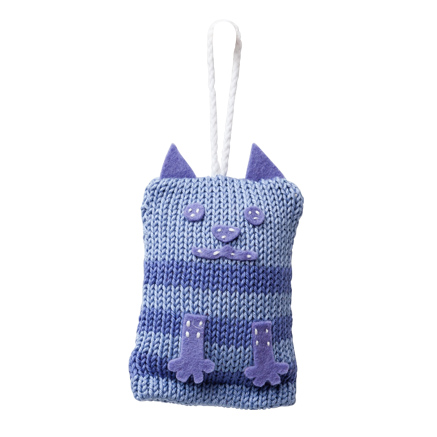 Tiny Kitty Toy - Lilac