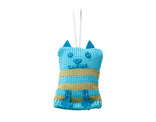 Tiny Kitty Toy - Turquoise